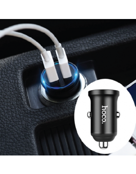 HOCO Z20 SURPASSING DUAL PORTS CAR CHARGER