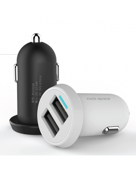 ROCK SPACE DITOR CAR CHARGER 2.4A KITS