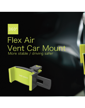 ROCK SPACE FLEX AIR VENT CAR MOUNT