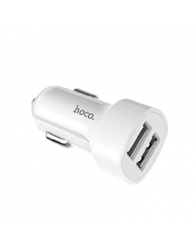 HOCO Z2A DUAL USB CAR CHARGER + CABLE (LIGHTINING)