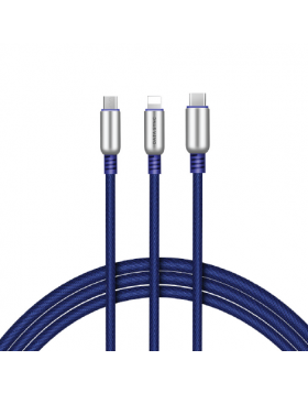 HOCO U17 CAPSULE DATA CABLE LIGHTING+MICRO+TYPEC
